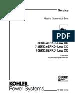 Manual Kohler 5ekd