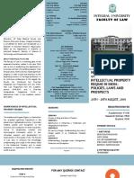 Brochure - IU IPR Workshop