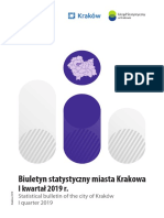 Statistics About Krakow 2019