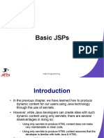 JEDI Slides Web Programming Chapter04 Basic JSPs