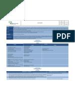 Caracterización de Proceso Gestión de Inversiones