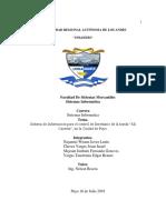 Perfil Sistema de Información para el control de Inventario ¡