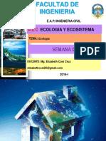 Semana 01 - Ecologia
