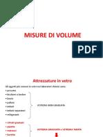 4. Misure Di Volume