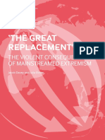 The Great Replacement the Violent Consequences of Mainstreamed Extremism by ISD