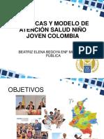 Politicas y Modelo de Atención Salud Niño Joven