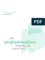 Hr Professionalism What Do We Stand for 2017 Tcm18 17960