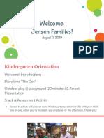 jensen kinder parent presentation 19-20