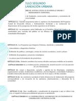 Ley de asentamientos humanos estado de Hidalgo