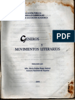 Géneros y Movimientos Literarios