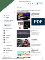 Libro de User Postproccion Integral - YouTube