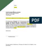 Acta de Asamblea Ramiriqui