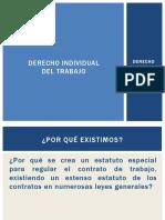 derecho laboral chileno I contrato individual