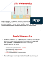5. Introduzione Allanalisi Volumetrica