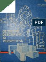 Geometrie Descriptiva Si Perspectiva