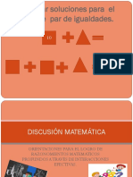Encontrar soluciones para  el siguiente  par de igualdades.pptx