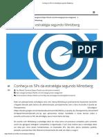 Conheça Os 5Ps Da Estratégia Segundo Mintzberg