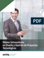 M O Diseno Gestion Proyectos Tecnologicos Esp