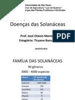 Aula 3 - Doenças Das Solanáceas 2014