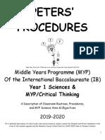 peters procedures 2019-2020