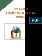 La Historia de La Administración Púbica