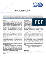 Advanced Methods for Flash Fire Risk Assessment