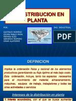 3.6 Distribucion de Planta