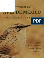 Aves mexicanas