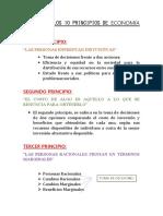 Resumen de Los 10 Principios de Economía Terminado