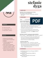 Stefanie Dyga Resume
