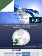 Mercado eléctrico de Guatemala actual.