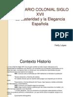 Traje Colonial XVII en Venezuela