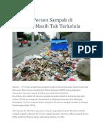 bahaya sampah