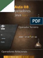 Java Operadores - Cev