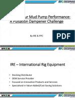 004 Mud Pump Performance