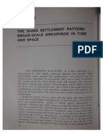 Yellen, J. 1977 the Kung Settlement Pattern Broad-scale Grouping in Time and Space