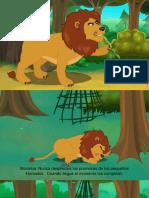 el raton y el leon