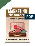 Marketing de Autores 8 Acciones de Promoción de Tu Libro