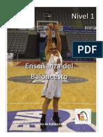 Enseñanza Del Baloncesto Contenidos