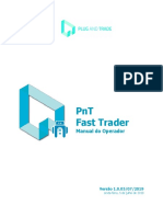 PnT Fast Trader - Manual Do Operador