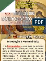 Estudo Teológico - 13-08-2019