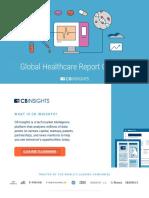 CBinsights Global Healthcare Report Q2 2019 Copy