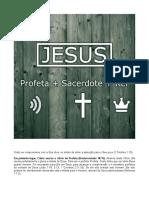 Tres Oficios Cristo