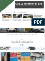 Editorial Folha de São Paulo Educação Setembro 2018 _ Pol Públicas Agenda Da Mídia