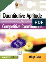 Quantitative Aptitude for Competitive Examinations - Abhijit Gu- By EasyEngineering.net