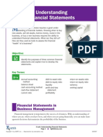 Using Financial Statements E Unit