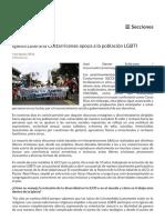 Iglesia luterana costarricense y la población LGBTIQ