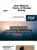 Watson's Theory of Human Caring
