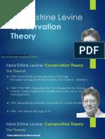 Levine's Conservation Model