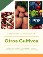 Análisis de La Producción de Otros Cultivos